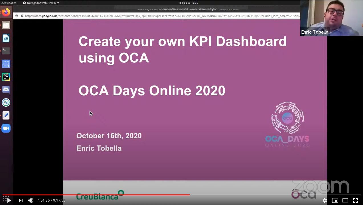 KPI – Dashboard จากงาน OCA Days 2020